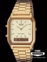 นาฬิกา คาสิโอ Casio เรือนทองยอดนิยมรุ่น AQ-230GA-9D