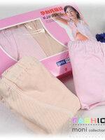 กางเกงในพยุงหน้าท้อง 1กล่องมี2ตัวค่ะ มีสีครีม และ สีชมพู size L / XL