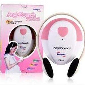 เครื่องฟังเสียงหัวใจทารก  รุ่น AngleSounds Jumpet  ช่วยให้คุณแม่ได้ฟังเสียงหัวใจเบบี๋ในระหว่างอยู่ในท้อง