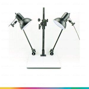 Copy Stand แท่นถ่ายภาพพระเครื่อง ถ่ายภาพแสตมป์ ถ่ายภาพหนังสือ ถ่ายแผ่นพับ โบชัวร์ การ์ดงานแต่ง