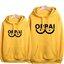 เสื้อฮู้ดกันหนาวไซตามะ One Punch Man(OPPAI)**สีเหลือง**