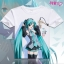 เสื้อยืดแขนสั้น Hatsune Miku (มีให้เลือก 24 แบบ)