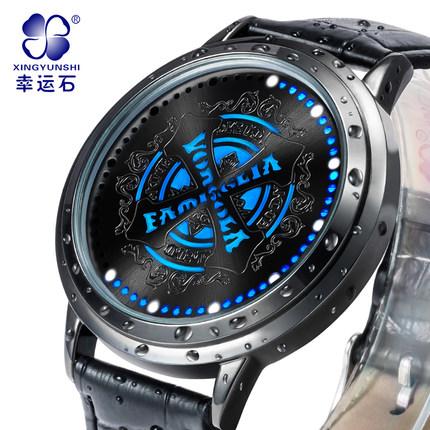 นาฬิกาจอสัมผัส LED Reborn สีดำ (ของแท้ลิขสิทธิ์)