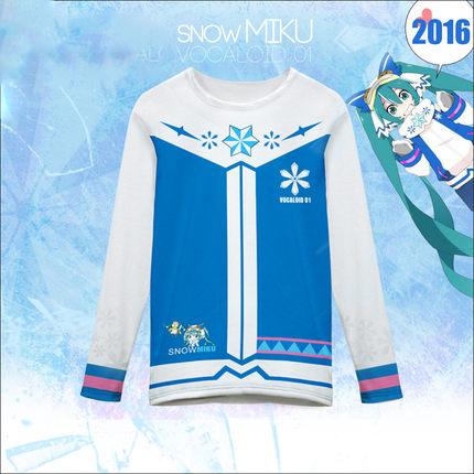 เสื้อยืดแขนยาว Snow Miku