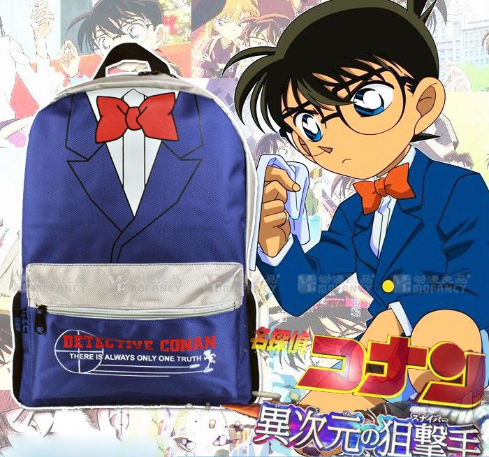 กระเป๋าสะพายโคนัน(สีฟ้า)
