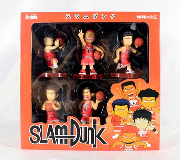 Slam Dunk สแลมดังก์ชุดแดง 6 ตัว/ชุด ฐานแดง(มีกล่อง