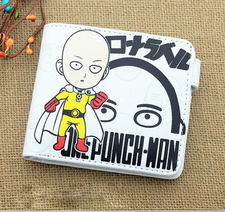 กระเป๋าสตางค์ลายไซตามะ วันพั้นแมน One Punch Man (แบบที่ 1)