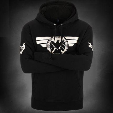 เสื้อฮู้ดกัปตันอเมริกา (Captain America) รุ่น 4