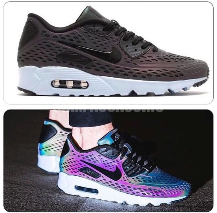 Nike Air Max 90 Ultra Moire QS Holographic Deep Pewter
