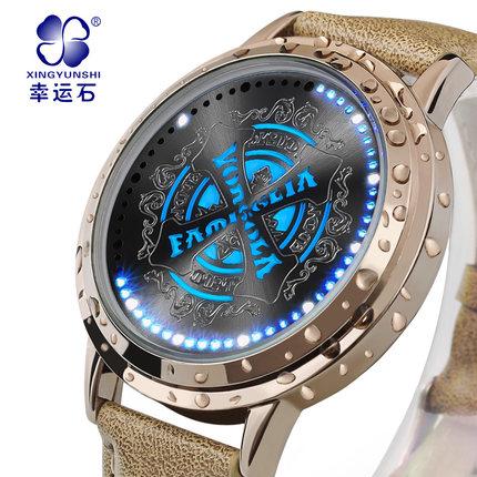 นาฬิกาจอสัมผัส LED Reborn สีทอง (ของแท้ลิขสิทธิ์)