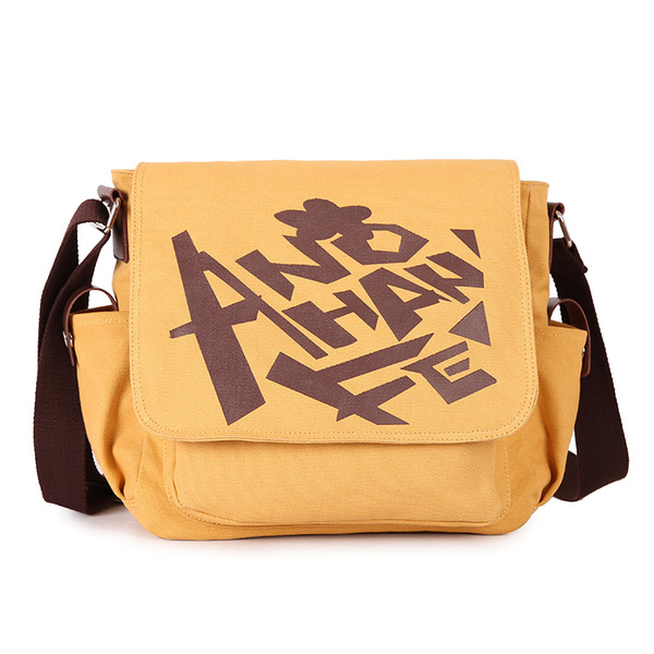 กระเป๋าผ้าสะพายข้าง เมนมะ (Ano hana)