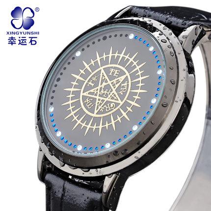 นาฬิกา LED จอสัมผัส Kuroshitsuji สีดำ (ของแท้)