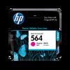 HP 564 ตลับหมึกอิงค์เจ็ท สีม่วงแดง Magenta Original Ink Cartridge (CB319WA)