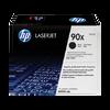 HP 90X ตลับหมึกโทนเนอร์ สีดำ ของแท้ Black Original Toner Cartridge (CE390X)