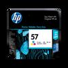 HP 57 ตลับหมึกอิงค์เจ็ท สี ของแท้ Tri-color Original Ink Cartridge (C6657AA)