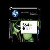 HP 564XL ตลับหมึกอิงค์เจ็ท สีดำ ของแท้ High Yield Black Original Ink Cartridge (CN684WA)