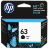 HP 63 ตลับหมึกอิงค์เจ็ท สีดำ Black Original Ink Cartridge (F6U62AA)