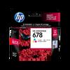 HP 678 ตลับหมึกอิงค์เจ็ท 3สี Tri-color Original Ink Advantage Cartridge (CZ108AA)
