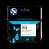 HP 711 3-pack 29-ml ตลับหมึกอิงค์เจ็ท สีเหลือง Yellow Original Ink Cartridge (CZ136A)