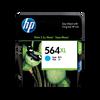 HP 564XL ตลับหมึกอิงค์เจ็ท สีฟ้า ของแท้ High Yield Cyan Original Ink Cartridge (CB323WA)