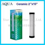 ไส้กรองน้ำ CERAMIC 10 นิ้ว x 2 นิ้ว 0.3 Micron AQUA