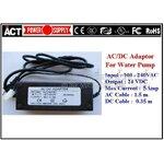 หม้อแปลงปั๊มน้ำ Switching Adapter 24 VDC 5 A กันน้ำ