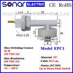 ลูกลอยไฟฟ้าเล็ก สวิทช์ลูกลอย Horizontal PP Float Switch (NC/NO) EPC1