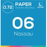 NASSAU PAPER 0.72x11 m ฉากกระดาษสีฟ้า