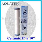 ไส้กรองน้ำ CERAMIC 10 นิ้ว x 2 นิ้ว 0.3 Micron Aquatek