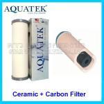 ไส้กรองน้ำ Ceramic+Carbon 10 นิ้ว x 2.5 นิ้ว 0.5 Micron Aquatek
