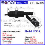 ลูกลอยไฟฟ้าเล็ก สวิทช์ลูกลอย Horizontal PP Float Switch (NC/NO) EPC3