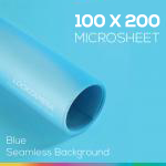 Blue Microsheet 100x200 cm ไมโครชีทสีฟ้า
