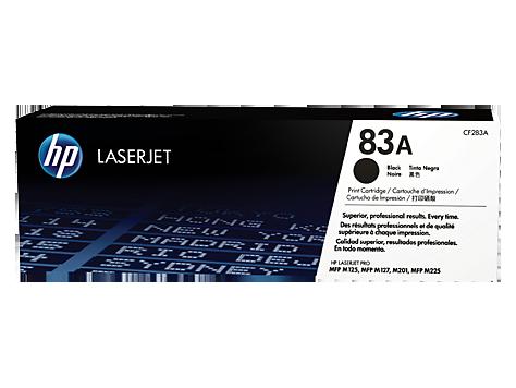HP 83A ตลับหมึกโทนเนอร์ สีดำ ของแท้ Black Original Toner Cartridge (CF283A)