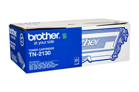 Brother TN-2130 ตลับหมึกโทนเนอร์ สีดำ Black Original LaserJet Toner Cartridge