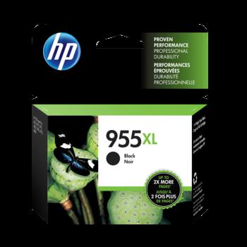 HP 955XL ตลับหมึกอิงค์เจ็ท สีดำ High Yield Black Original Ink Cartridge (L0S72AA)