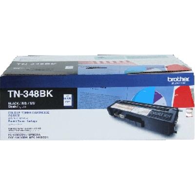 Brother TN-348BK ตลับหมึกโทนเนอร์ สีดำ ของแท้ Black Original Toner Cartridge