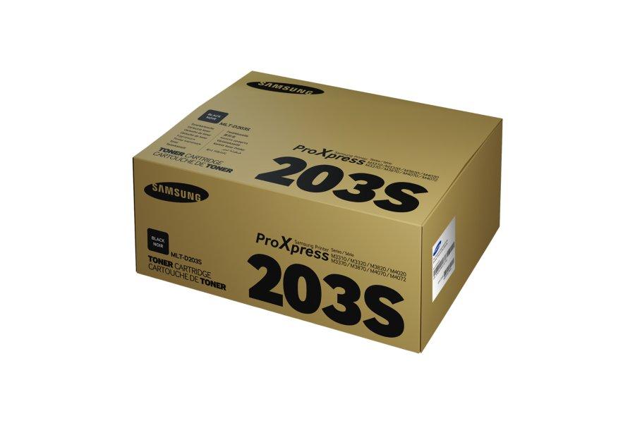 Samsung MLT-D203S ตลับหมึกโทนเนอร์ สีดำ ของแท้ Black Original Toner Cartridge (SU914A)