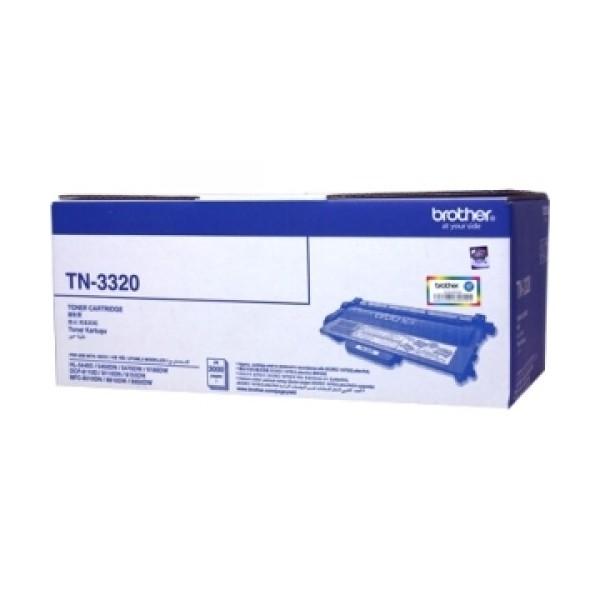 Brother TN-3320 ตลับหมึกโทนเนอร์ สีดำ ของแท้ Black original toner cartridge