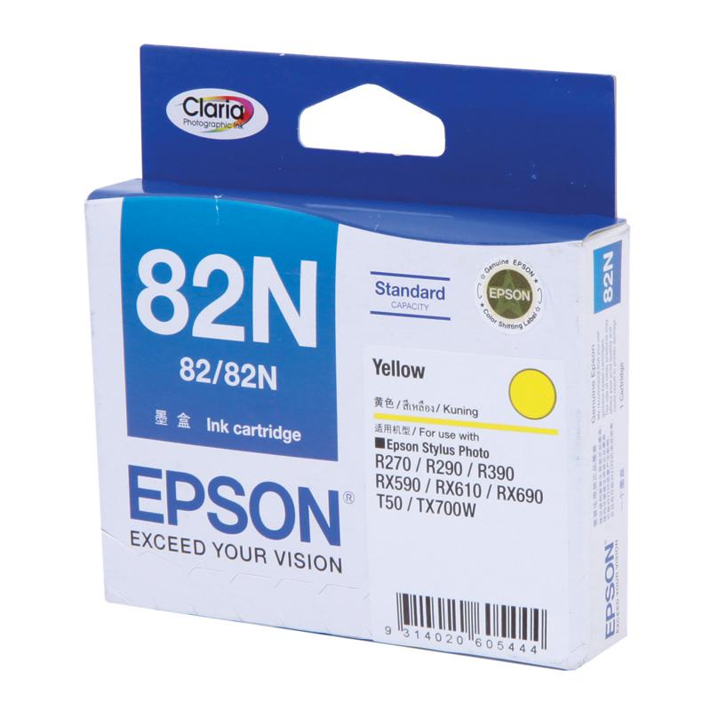 Epson T112490 (82N) หมึกพิมพ์อิงค์เจ็ต สีเหลือง