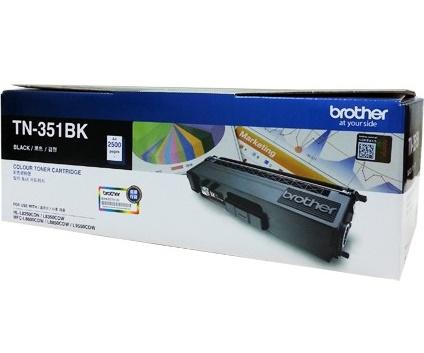 Brother TN-351BK ตลับหมึกโทนเนอร์ สีดำ ของแท้ Black Original Toner Cartridge