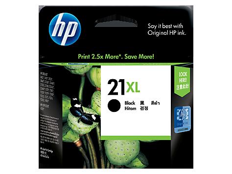HP 21XL ตลับหมึกอิงค์เจ็ท สีดำ 21XL High Yield Black Original Ink Cartridge (C9351CA)