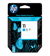 HP 11 ตลับหัวพิมพ์ สีฟ้า Cyan Printhead (C4811A)