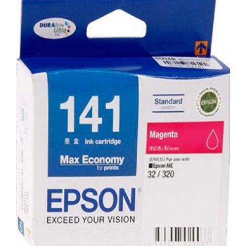 Epson T141390 (T141) หมึกพิมพ์อิงค์เจ็ต สีม่วงแดง Magenta Original Ink