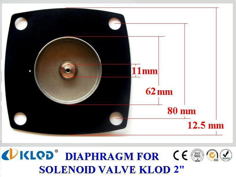 ยาง Diaphragm solenoid KLOD 2 นิ้ว