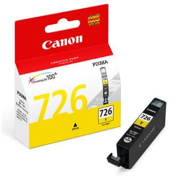 Canon CLI-726Y ตลับหมึกอิงค์เจ็ท สีเหลือง Yellow Original Ink