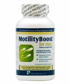 MotilityBoost เพิ่มการเคลื่อนที่ของอสุจิ