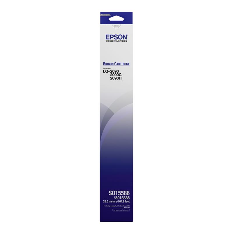 Epson S015586 ผ้าหมึกพร้อมตลับของแท้ Original Ribbon - LQ-2090/2090C/2090H