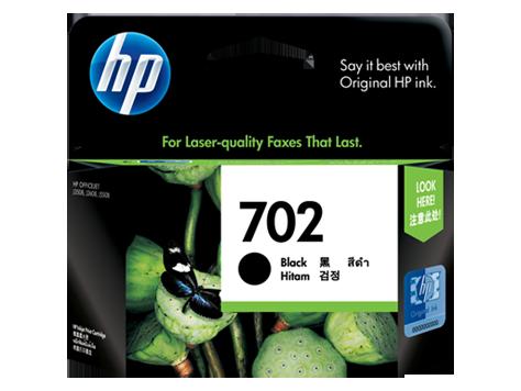 HP 702 ตลับหมึกอิงค์เจ็ท สีดำ Black Original Ink Cartridge (CC660AA)