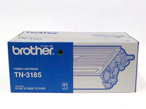 Brother TN-3185 ตลับหมึกโทนเนอร์ สีดำ Black Original LaserJet Toner Cartridge