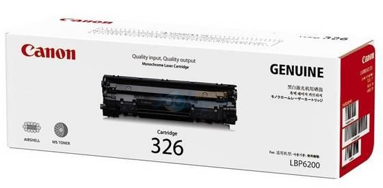 Canon Cartridge-326 ตลับหมึกโทนเนอร์ สีดำ Black Toner Original Cartridge